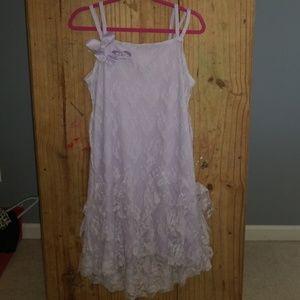 Girls spaghetti strap dress